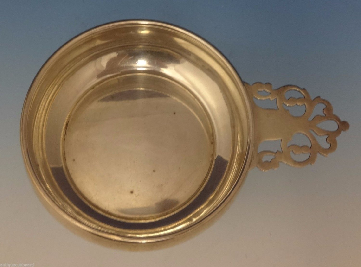 """Wallace Sterling Silver Porringer #4238 1 3/4"""" Tall & 6 1/2"""" Wide (#0737)"""