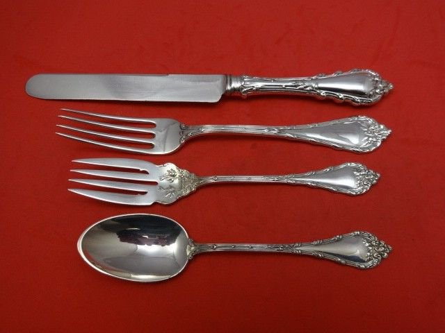 Madame Royale by Durgin Sterling Silver Regular Place Setting(s) 4pc