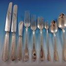 Hamilton Gramercy Tiffany Sterling Silver Flatware Set 12 Service 111 Pcs Dinner