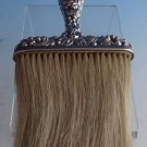 "Rose by Stieff Sterling Silver Hat Brush 6 7/8"" X 4"" (#0996)"