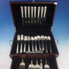 Courtship by International Sterling Silver Flatware Set For 8 Service 61 Pieces