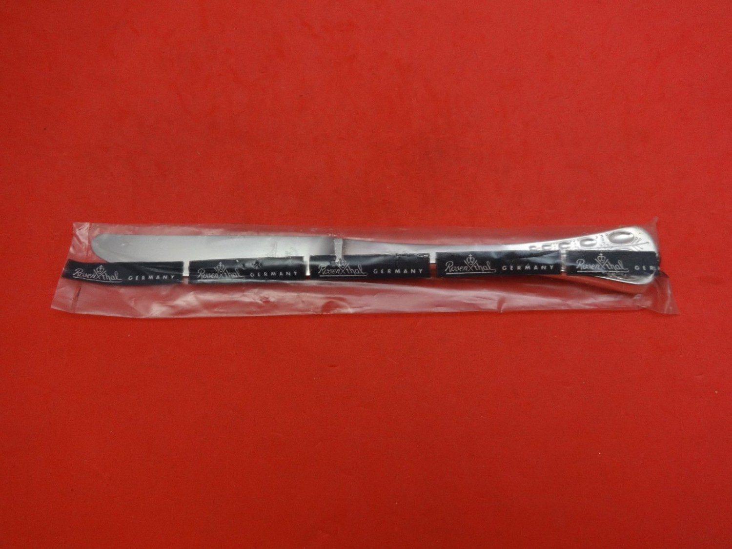 """Romance by Rosenthal Sterling Silver Dinner Knife 9 1/4"""" New"""
