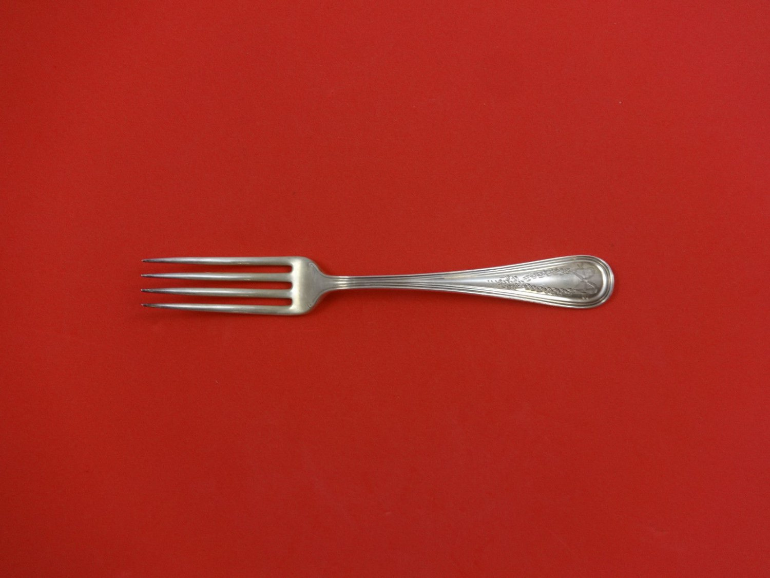 """Commonwealth Eng by Watson Sterling Silver Dinner Fork 7 1/4"""""""