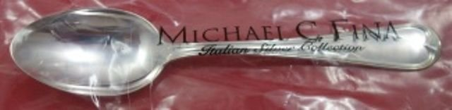 "Maurizano by Schiavon Italy Sterling Silver Teaspoon 5 7/8"" New"