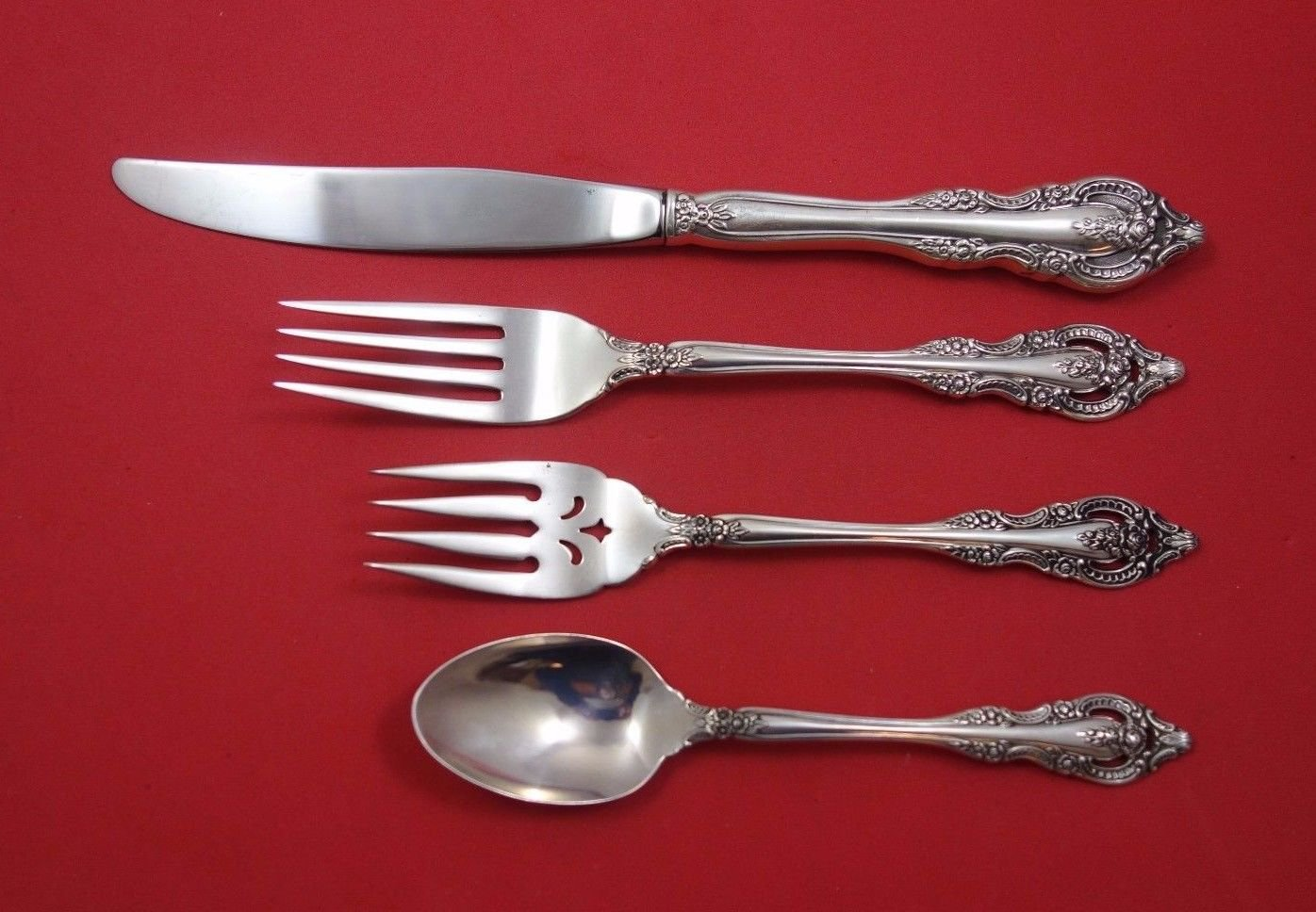 Mediterranea by Oneida Sterling Silver Regular Size Place Setting(s) 4pc
