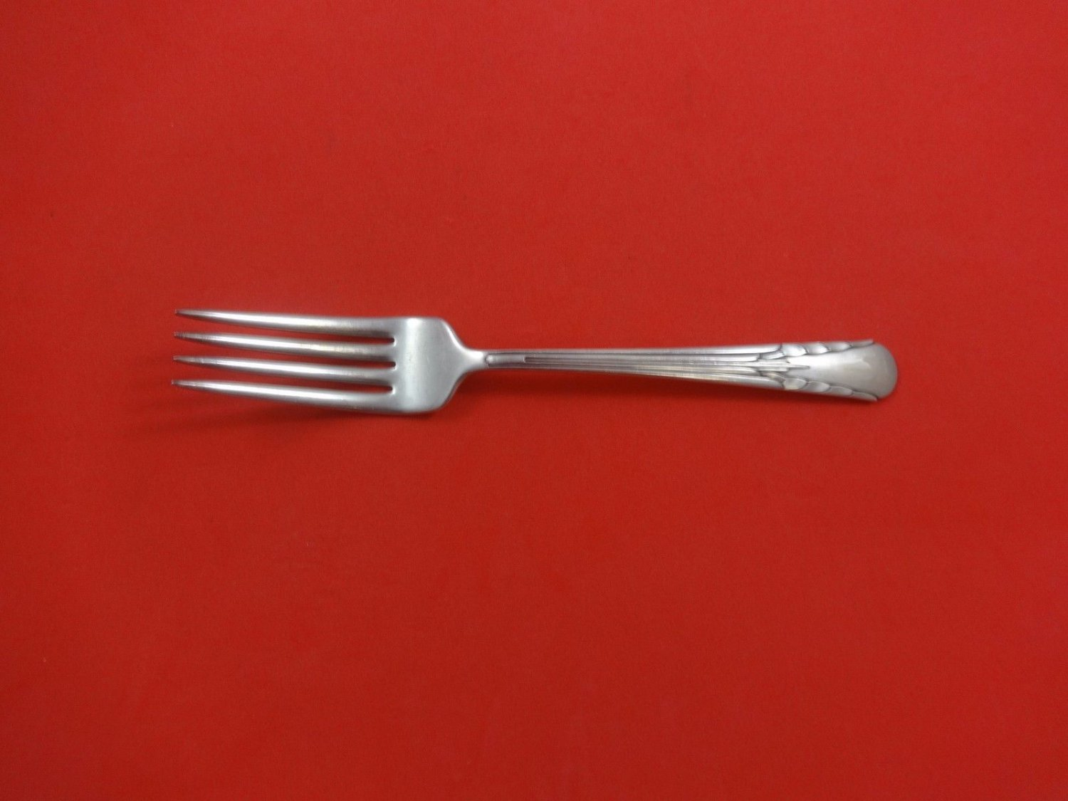 Orchid by International Sterling Silver Regular Fork 7 1/4""