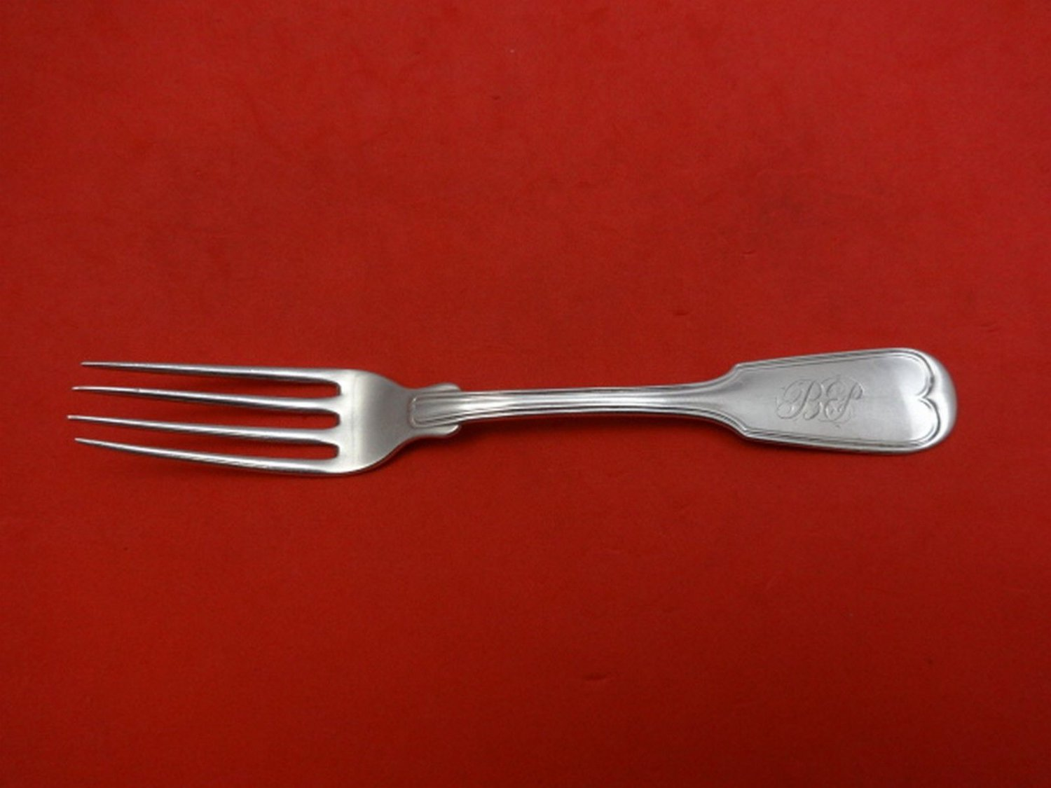 Fiddle by Tiffany & Co. Sterling Silver Regular Fork 6 5/8""