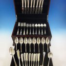 Antique by Wallace Sterling Silver Flatware Service For 8 Set 52 Pieces