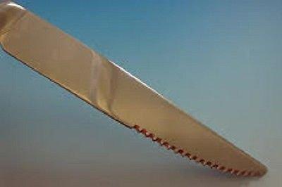 "Pantheon by International Sterling Silver Steak Knife 8 1/2"" HHWS  Custom"
