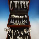 Legato by Towle Sterling Silver Flatware Set For 12 Service 82 Pieces