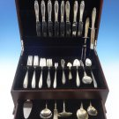 Prelude by International Sterling Silver Flatware Set For 8 Service 80 Pieces