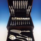 Silver Melody by International Sterling Flatware Service For 8 Set 44 Pieces