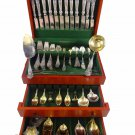 Georgian by Towle Sterling Silver Flatware Service For 8 Dinner Set 132 Pieces