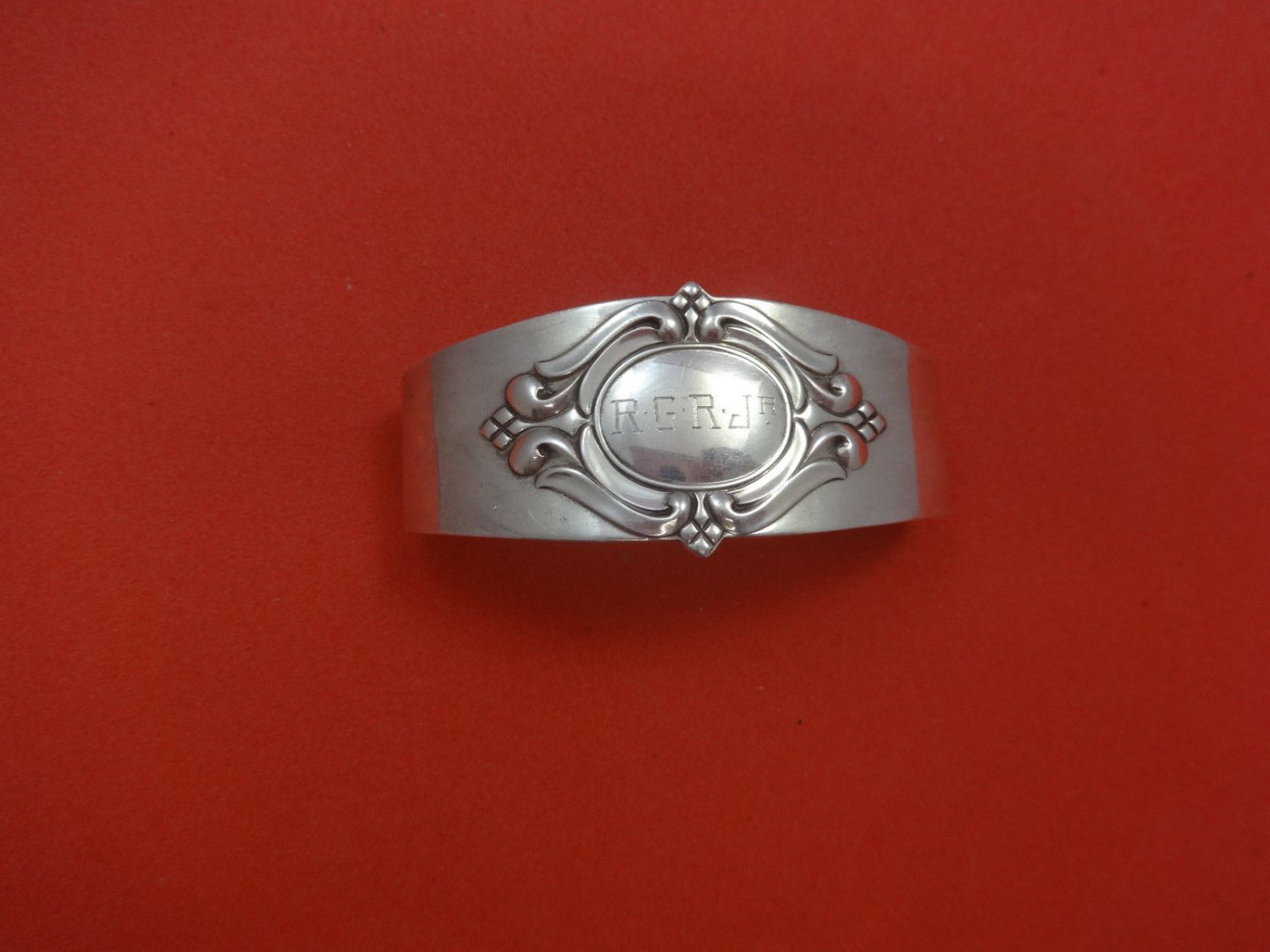 "Royal Danish by International Sterling Silver Napkin Ring 2 1/2"" W X 1 1/8"" H"