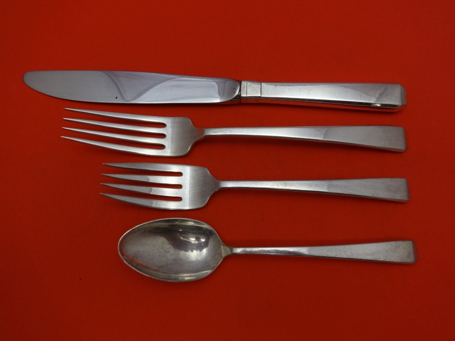 Craftsman by Towle Sterling Silver Regular Size Place Setting(s) 4pc