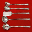 New Queens by Gorham Sterling Silver Hostess Set 5pc HHWS  Custom Made