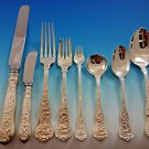 Olympian by Tiffany and Co Sterling Silver Flatware Set 8 Dinner Service 74 pcs