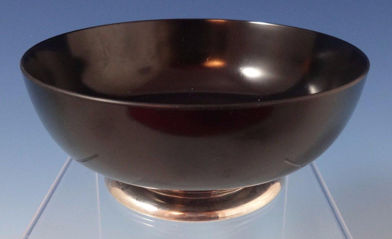 """Birks Sterling Silver Salad Bowl with Melamine 5 1/4"""" Diameter (#0914)"""