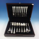 Old Master by Towle Sterling Silver Flatware Set For 8 Service 49 Pieces