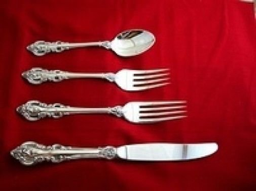 El Grandee by Towle Sterling Silver Regular Size Place Setting(s) 4pc