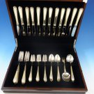 Golden Winslow by Kirk Sterling Silver Flatware Service For 12 Set 60 Pieces