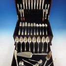 Vespera by Towle Sterling Silver Flatware Set For 8 Service 55 Pieces Modern