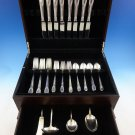 Trousseau by International Sterling Silver Flatware Set 8 Service 36 Pcs Dinner