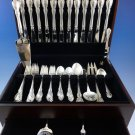 Legato by Towle Sterling Silver Flatware Service For 12 Set 57 Pieces