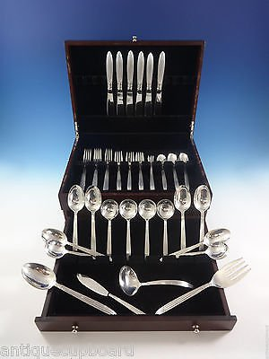 Jubilee by Reed & Barton Sterling Silver Flatware Set Dinner Size 46 Pieces