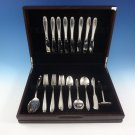 Southern Charm by Alvin Sterling Silver Flatware Set For 8 Service 51 Pieces