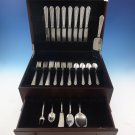 Mary II by Lunt Sterling Silver Flatware Set For 8 Service 38 Pieces Monogram B