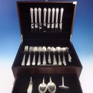 Chased Romantique by Alvin Sterling Silver Flatware Set For 8 Service 68 Pieces