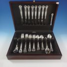 Chantilly by Gorham Sterling Silver Place Size Flatware Set 8 Service 42 Pcs