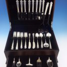 English Shell by Lunt Sterling Silver Flatware Service For 8 Set 55 Pieces