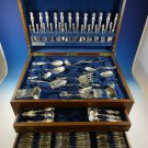 Frontenac by International Sterling Silver Flatware Service 12 Set 119 Pcs Huge