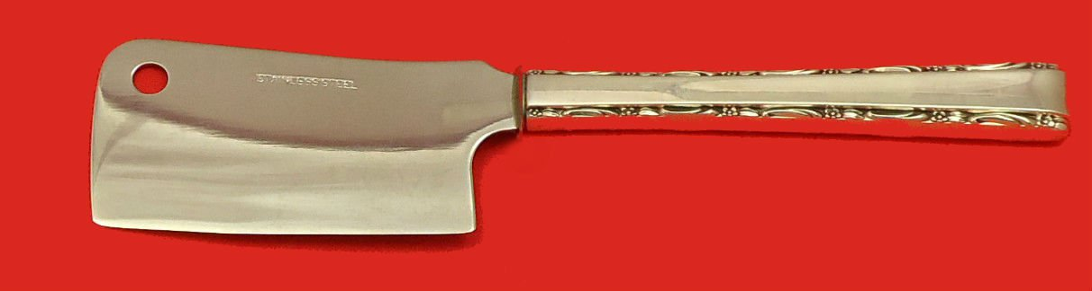 Madrigal by Lunt Sterling Silver Cheese Cleaver HHWS  Custom Made 6 1/2""