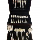 Patricia by W&S Sorensen Danish Sterling Silver Flatware Set 8 Service 44 Pieces