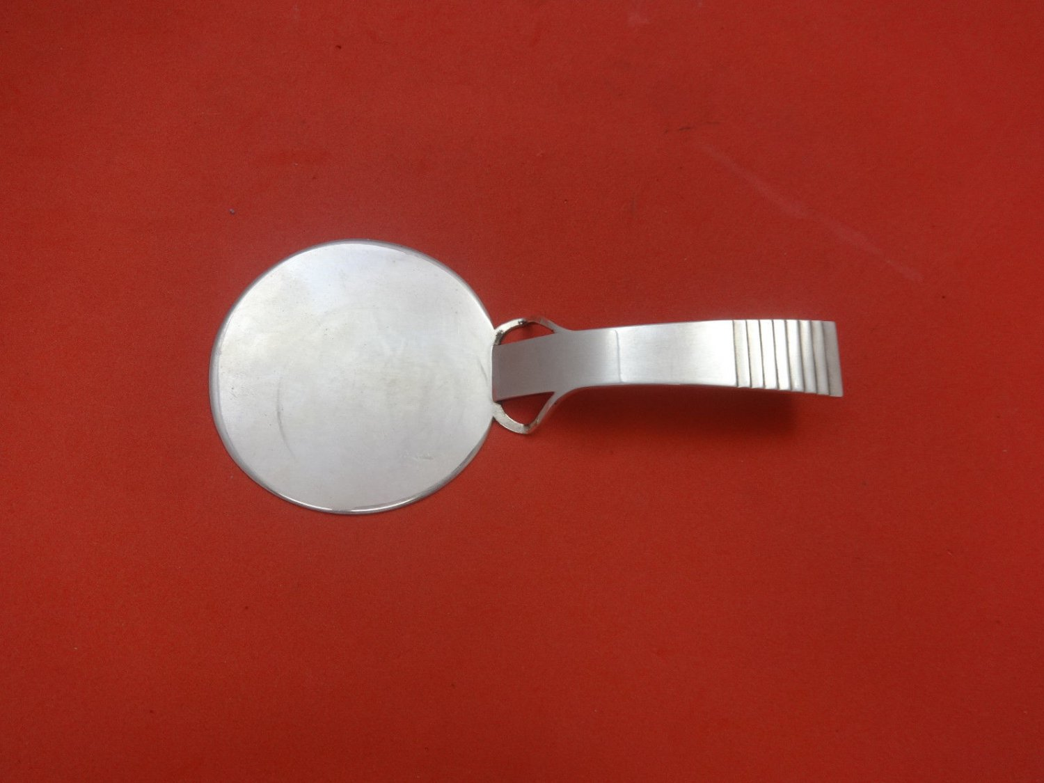 """Parallel by Georg Jensen Sterling Silver Pastry Server w/Wings GI Mark 5 1/2"""""""