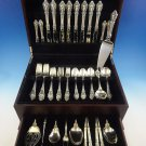 Eloquence by Lunt Sterling Silver Flatware Set For 8 Service 63 Pieces