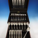 Riviera by International Sterling Silver Flatware Set For 8 Service 49 Pieces
