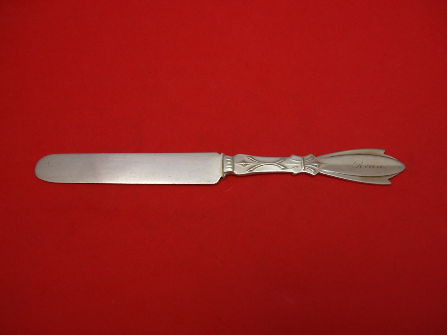 """Palace by Coles Shiebler Sterling Silver Regular Knife 7 1/2"""" Fhas"""