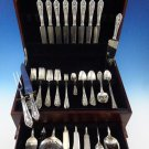 Fontaine by International Sterling Silver Flatware Set For 8 Service 82 Pcs