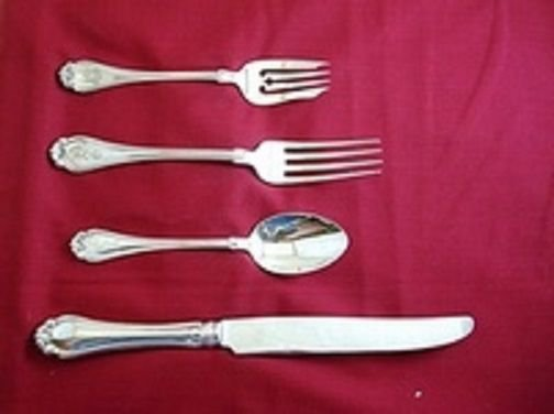 Century by Dominick & Haff Sterling Silver Regular Size Place Setting(s) 4pc
