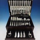Queen Louise by Watson Sterling Silver Flatware Set For 12 Service 99 Pieces