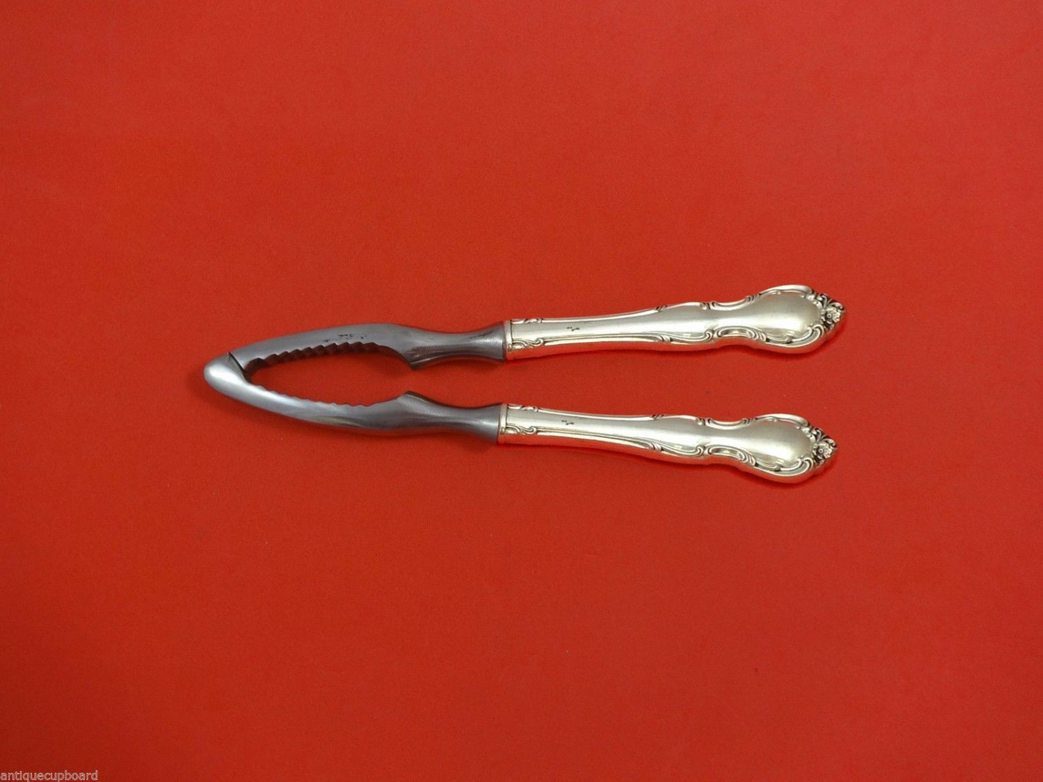 Pirouette by Alvin Sterling Silver Nut Cracker HHWS  Custom Made 7 1/4""