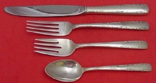Camellia by Gorham Sterling Silver Regular Size Place Setting(s) 4pc