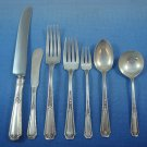 Louis XIV by Towle Sterling Silver Flatware Set For 12 Service 91 Pcs