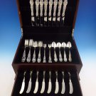 Lily by Frank Whiting Sterling Silver Flatware Service For 8 Set 48 Pieces