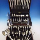 Carmel by Wallace Sterling Silver Flatware Service For 12 Dinner Set 110 Pieces