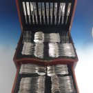 "Empire by Towle Sterling Silver Flatware Set Service 102 Pieces ""S"" Monogram"